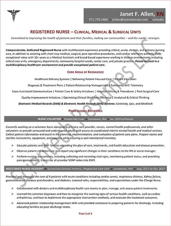 Mid-Career Professional Samples – Scientech Resumes LLC